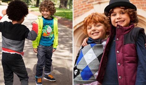 لباس پاییزی پسرانه,مدل لباس پسربچه ها