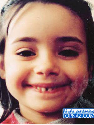 عکس نارین بازیگر سریال مرحمت در کودکی