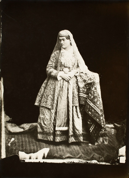 عکس زن قاجار