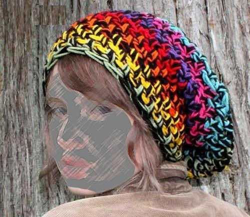 مدل شال و کلاه بافتنی جدید