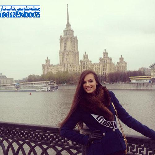 میس یونیورس سال 2013 کشور لیتوانی انتخاب شد +عکس