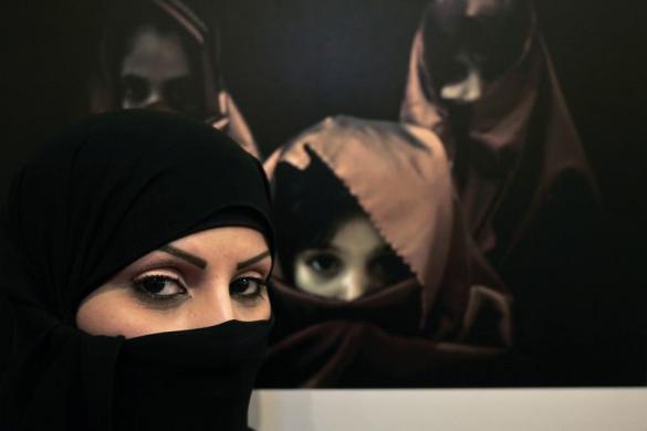 عکس زن عربستانی