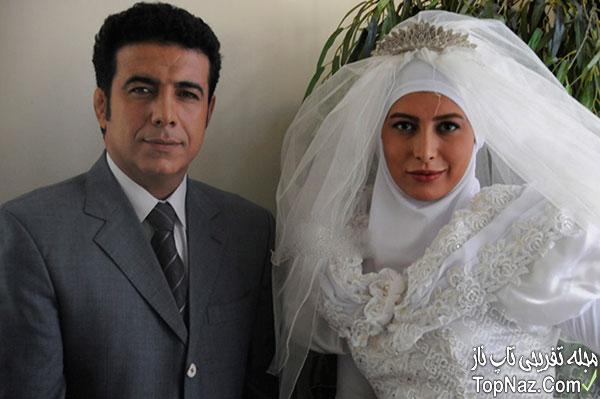فریبا نادری در لباس عروس