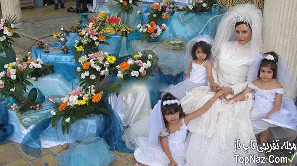 الناز شاکردوست در لباس عروس