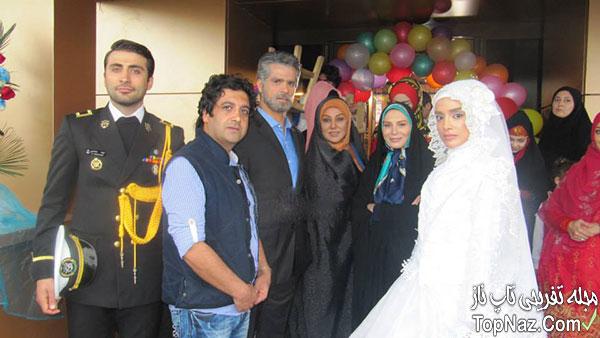 الهه حصاری در لباس عروس