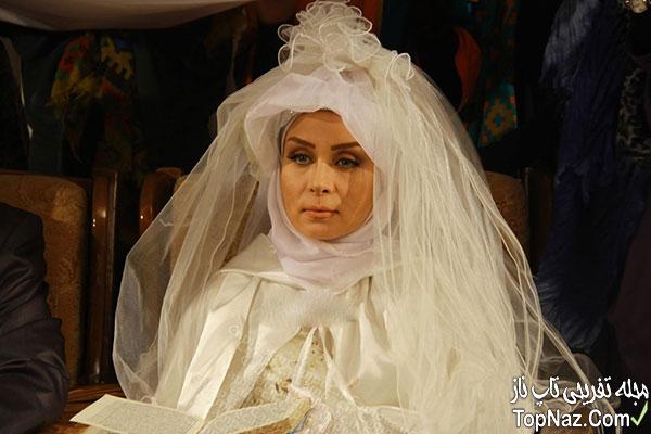 حدیث فولادوند در لباس عروس