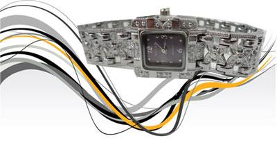 مدل ساعت نقره