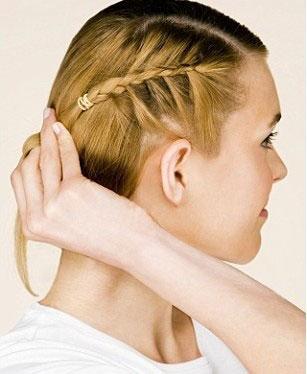آموزش تصویری بافت موی یک طرفه