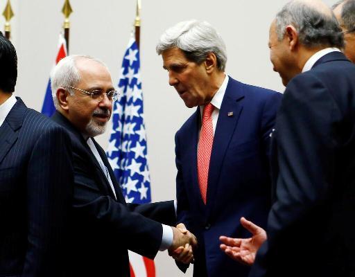 اولین دست دادن وزیران خارجه ایران و آمریکا بعد از انقلاب