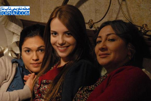 عکس توپراک در سریال عمر گل لاله