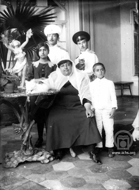 عکس ملکه جهان همسر محمدعلی شاه قاجار