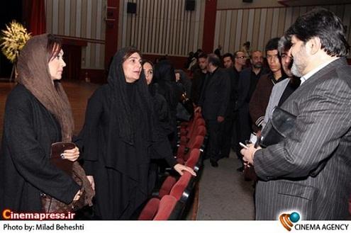 عکس بازیگران زن در مراسم بازیگر ناکام سعید امینی