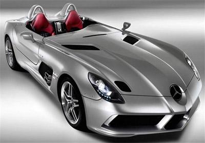 نادرترین خودروهای جهان,مرسدس بنز مک لارن اس ال آر استرلینگ ماس