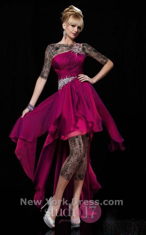 مدل لباس مجلسی دختران قد بلند