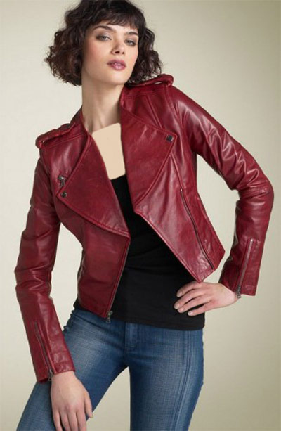 مدل پالتو و کت چرم زنانه