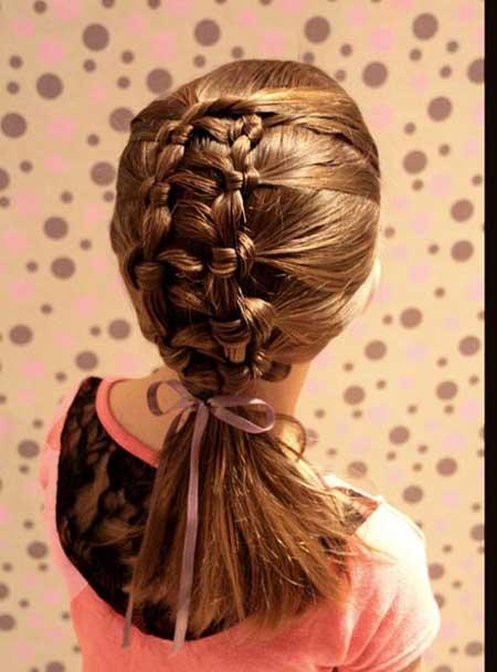 مدل مو برای دخترهای کوچک