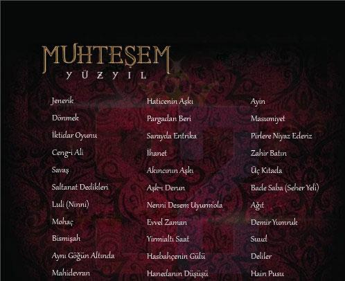 دانلود آلبوم آهنگ های سریال حریم سلطان