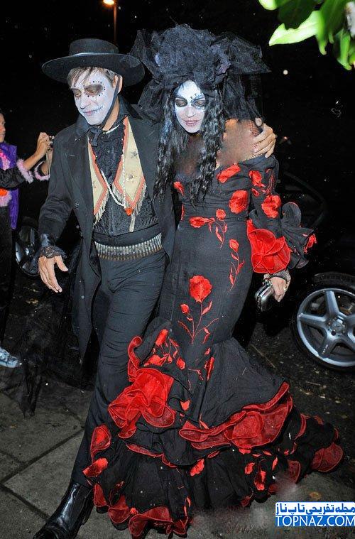 کیت ماس در جشن هالووین 2013
