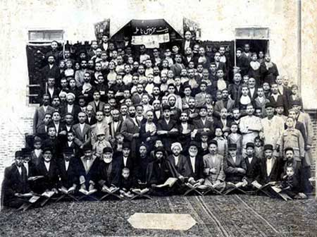 عکس هیئت ها عزاداری ماه محرم در قدیم