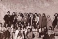 عکس دختران دبیرستانی ایران در 40 سال پیش