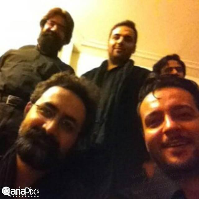 عکس بازیگران ایرانی در ایام محرم