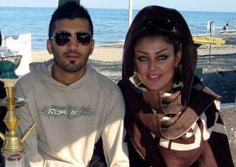 عکس جنجالی ستاره جدید باشگاه پرسپولیس و نامزدش