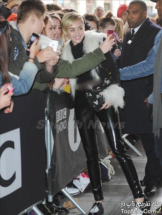 عکس های جدید مایلی سایرس در میان طرفدارانش