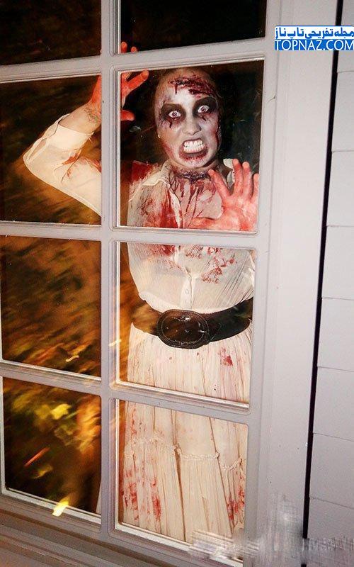 دمی لواتو در شب هالووین