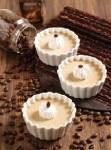 طرز تهیه دسر قهوه و خامه