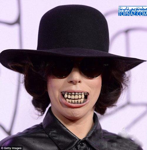 عکس زشت ترین زن خواننده دنیا!