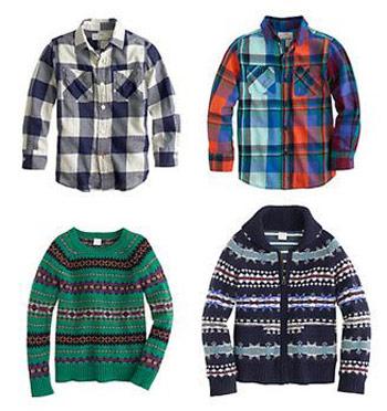 لباس زمستانی برند J.Crew, لباس بچه گانه برندJ.Crew