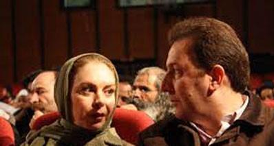 افسانه بایگان و همسرش +عکس