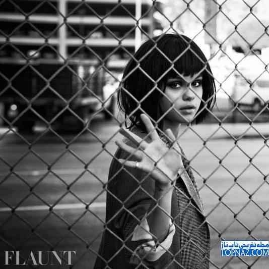 جدیدترین عکس های سلنا گومز برای مجله Flaunt