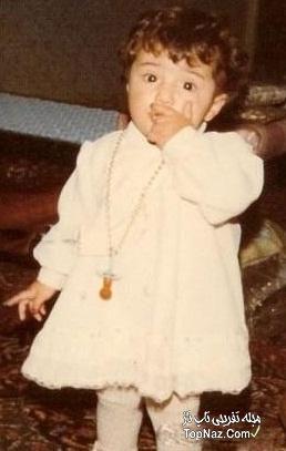 کودکی شبنم قلی خانی
