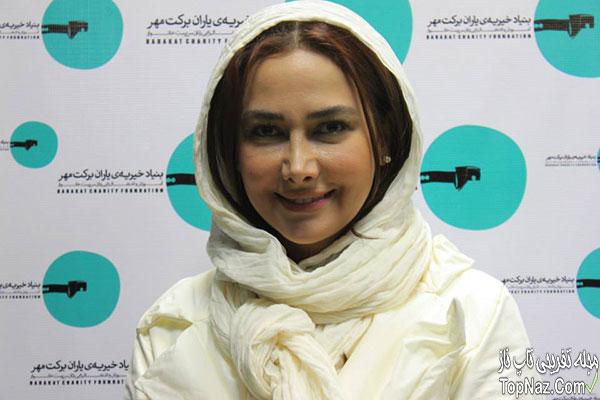 آنا نعمتی در بنیاد خبریه برکت مهر