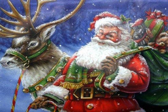 جشن کریسمس و افسانه بابانوئل