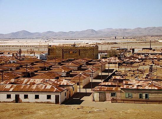 هامبرستون و لانوریا (Humberstone, Lanoria)، شیلی