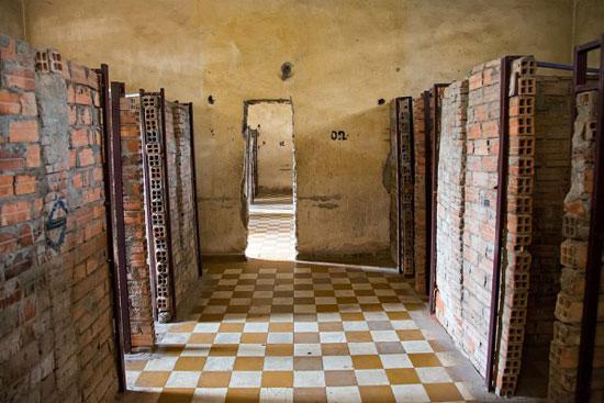 موزه کشتار دسته جمعی تول اسلنگ (Toul Sleng)، کامبوج