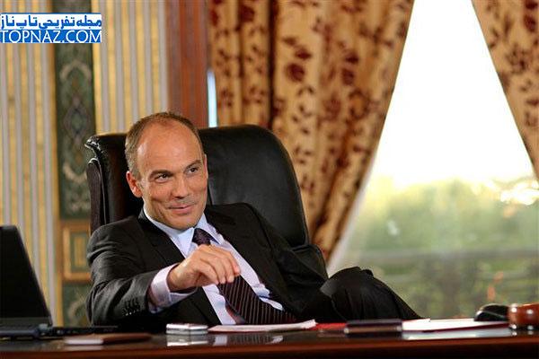 علی احسان در سریال عفت