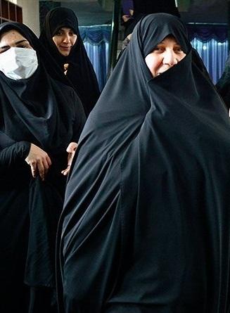 عکس اولین حضور رسانهای همسر روحانی