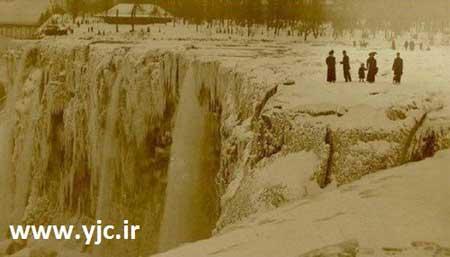 اخبار ,اخبار گوناگون ,آبشار یخ زده نیاگارا
