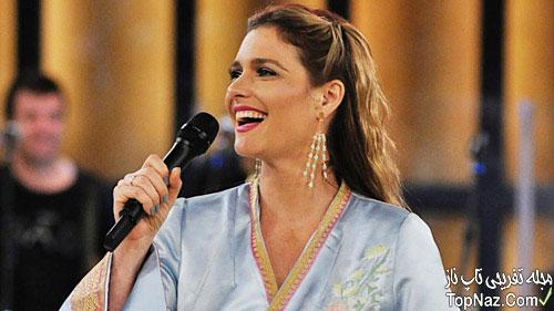 مجری زن برزیلی