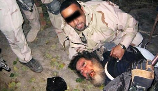 دستگیری صدام حسین