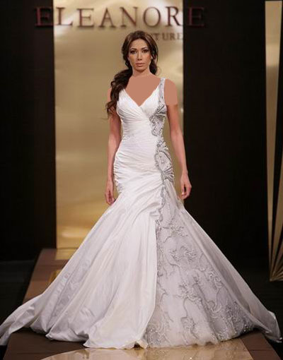 تصاویر مدل لباس عروس عربی