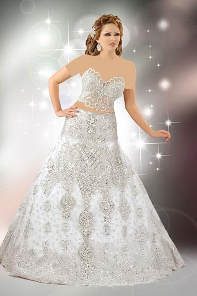 شیک ترین مدل لباس های عروس عربی