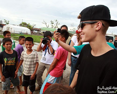جاستین بیبر در فیلیپین