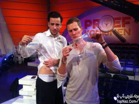 دو مجری در برنامه تلویزیونی گوشت هم را خوردند!!
