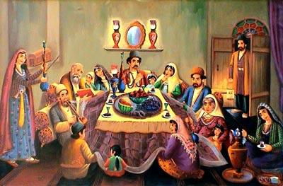 شب یلدا,تاریخچه شب یلدا,شب چله