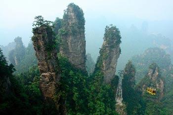 عکس های دیدنی از عجیب ترین کوهستان دنیا