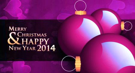 کارت پستال کریسمس 2014